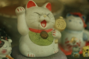 Maneki Neko -- Beckoning Cat